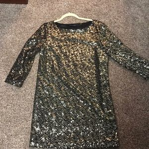 Tahari never worn sequin dress